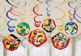 power rangers dino charge hanging swirl value pack power rangers dino charge hanging swirl value pack birthdayexpress com
