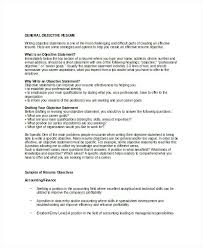 Best Resume Objective Statements General Resume Objective For Job Fair Best Examples Ideas On Pics