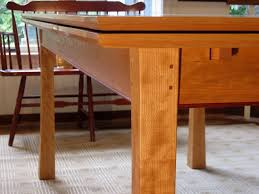 expandable dining room table plans hand crafted dutch pull out dining table by joseph murphy