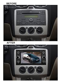 2007 ford focus radio android 5 1 car dvd radio dvd player gps sat navi