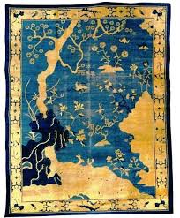 Nichols Chinese Rugs Antique Chinese Rug Typically Are Blue And White With Yellow