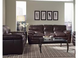 Simon Li Leather Sofa Simon Li Biscayne Black Oak Leather Sofa U0026 Loveseat Great