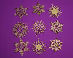 32 stars u0026 snowflakes 3 5 christmas ornament