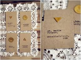 top 10 creative and inexpensive diy business or calling cards