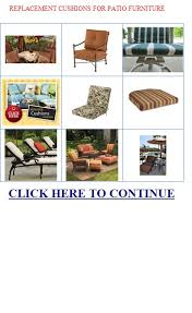 Replacement Cushions Patio Furniture by Replacement Cushions For Patio Furniture Discount Replacement