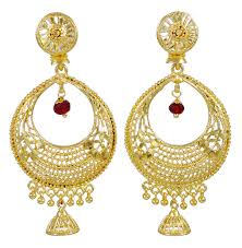 bridal jhumka earrings bridal jhumka earrings beautify themselves with earrings