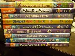 10 nick jr blue u0027s clues childrens dvd lot shapes colors band