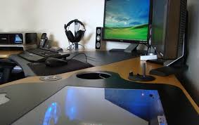 ardent computer table with drawers tags gaming desktop desk