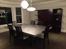 Where To Buy Dining Room Table Buy A Custom Modern Zinc Dining Table Made To Order From