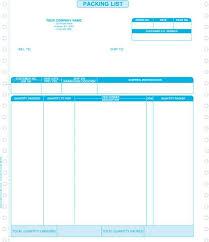 packing list form macola u2013 creative document solutions llc