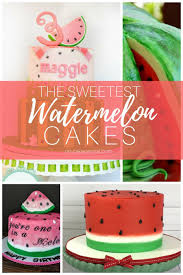 Watermelon Cake Decorating Ideas Top Watermelon Cakes Cakecentral Com