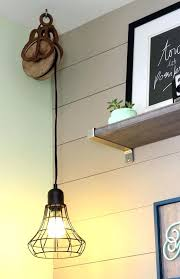 hanging light not hardwired how to hang a pendant l without hard wiring pendant lighting hang