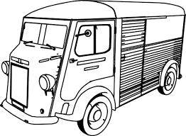 citroen type h minibus car coloring page wecoloringpage