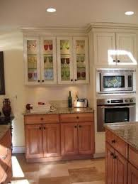 Brown Painted Kitchen Cabinets by Kitchens With Different Color Upper And Lower Cabinets Google