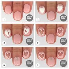 20 amazing negative space nail tutorials