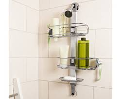 Bathroom Caddies Shower Simplehuman Adjustable Stainless Steel Shower Caddy Organizer