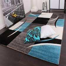 wohnzimmer grau trkis teppich türkis grau weiß wohnzimmer teppiche modern mit for das