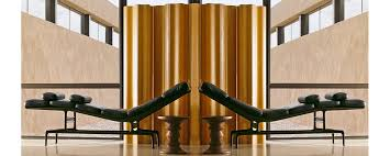 Folding Screens Room Dividers by Eames Molded Plywood Folding Screen Room Divider Screen Herman