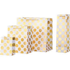 gold gift bags gold big boom on ivory gift bags paper source