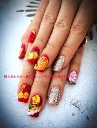 disney cartoon nail art design beberry beauty nails spa and wax