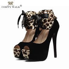 leopard print red bottom pumps
