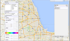 Blue Line Chicago Map by Stats And Things Creating Styled Google Maps In Ggmap