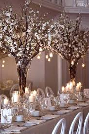 branch centerpieces branches and twigs as winter wedding inspirationlife in bloom
