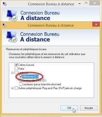 accès bureau à distance le bureau à distance