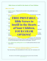 thanksgiving bible verses kjv free printable u2013 bible verses to instill in the hearts of our children