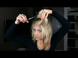 8 haircut look 8 youtube tutorials that make cutting your own hair look super