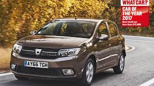 dacia sandero retains crown at what car awards for fifth