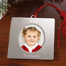personalized silver picture frame ornaments 4276