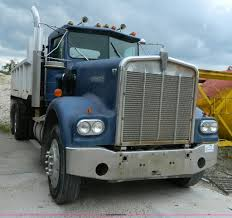 kenworth w900a 1977 kenworth w900a dump truck item j8920 sold june 30