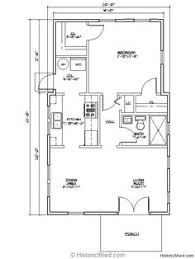 1 Bedroom Cabin Floor Plans Cabin Style House Plan 1 Beds 1 Baths 768 Sq Ft Plan 1 127