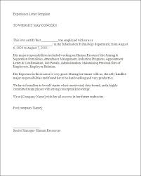 Sle Of Certification Letter Of Employment Letter Of Experience Sle Offer Letter Of Employment India Lg 5