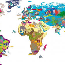 world map with country names and capital cities mimi lou world map wall sticker a big world map on which you add