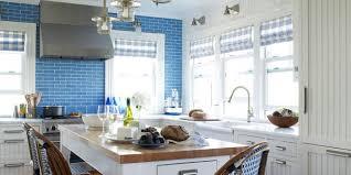 light blue kitchen backsplash kitchen 9 kitchens with stopping backsplash hgtvs decorating