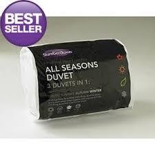 All Seasons Duvets All Seasons Slumberdown 3 Duvets In 1 4 5 10 5 Tog U003d15 0 Tog