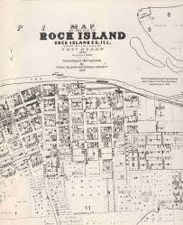 Lincoln Illinois Map by Rock Island Il