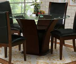 dark brown round kitchen table modern classic warm dark brown large round dining table alabama