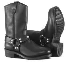 black leather motorcycle boots motorcycle boots ranger harness
