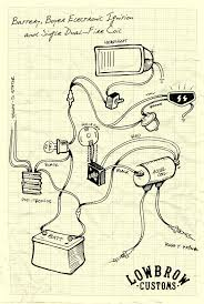 lowbrow customs motorcycle wiring diagram boyer electronic