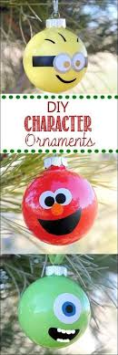 diy character despicable me minion and ornaments for 2014