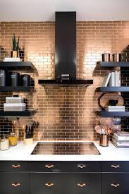 black tile kitchen backsplash fresh white kitchen with black tiles