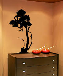 nature wall decals nature stickers for walls stickerbrand vinyl wall decal sticker funky bonsai ac215