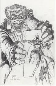 batman joker u0027s 5 way revenge pencil sketch by myconius on deviantart