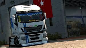 skin pack new year 2017 for iveco hiway and volvo 2012 2013 italian guzeli hi way turkish tuning mod euro truck simulator 2 mods