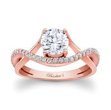 Rose Gold Wedding Ring by Barkev U0027s Rose Gold Engagement Ring 7913lp