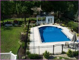 brilliant inground pool landscaping ideas 1000 ideas about