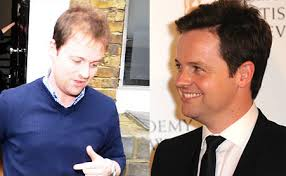 declan donnelly does propecia could ant follow